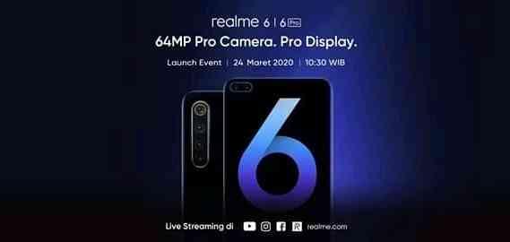 Realme 6 resmi rilis di Indonesia