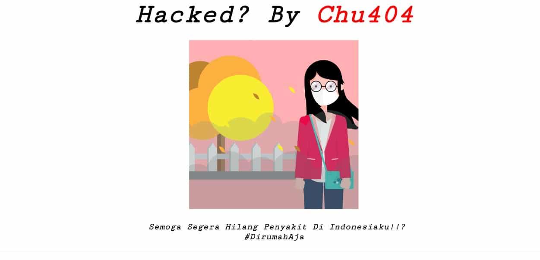 Situs KPU Kabupaten Jember Diretas Hacker, Pelaku Ingin Segera Virus Corona Hilang Dari Indonesia