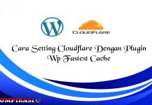 Cara Setting Cloudflare Dengan Plugin Wp Fastest Cache
