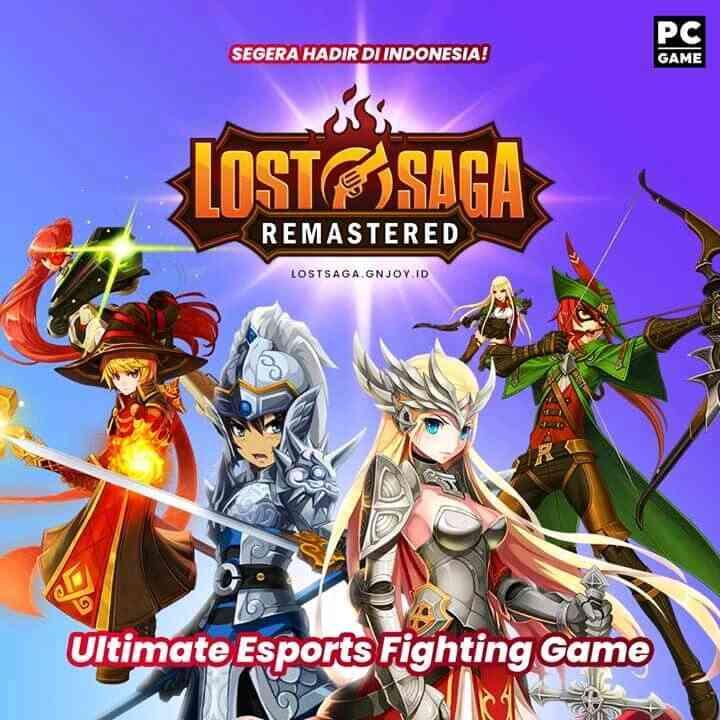 Lost Saga Gamscool Tutup, Kini Lost Saga Remastered Akan Segera Hadir Di Indonesia