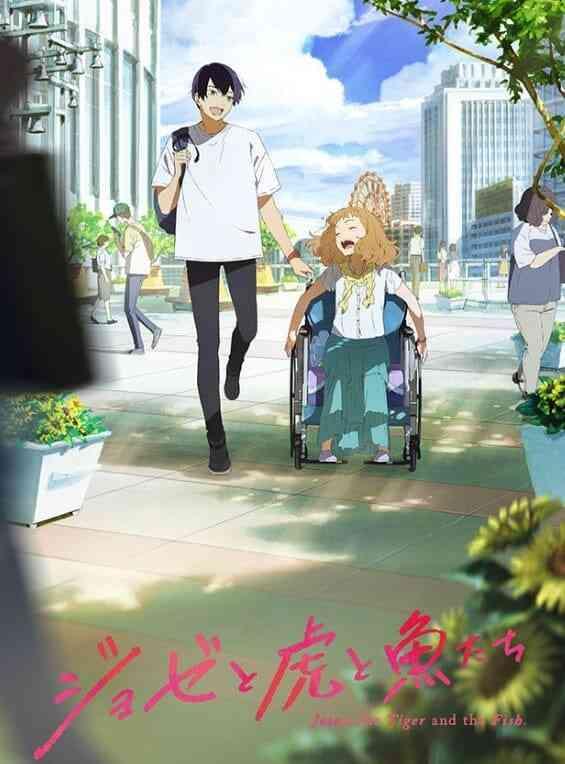 Film Anime Drama Romantis: Josee, the Tiger and the Fish Akan Tayang Di Bioskop Jepang