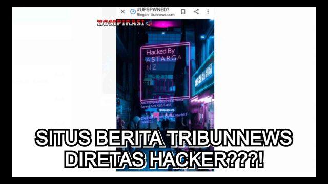 tribunnews di retas hacker