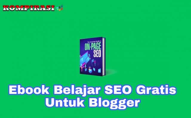 ✓ 5 Ebook Belajar SEO Blog Gratis Untuk Blogger Pemula